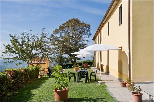 Landhaus an den Hängen des Montalbano