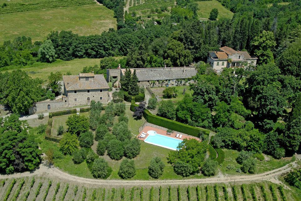 Casa vacanze fattoria di vegi a castellina in chianti - Agriturismo firenze con piscina ...
